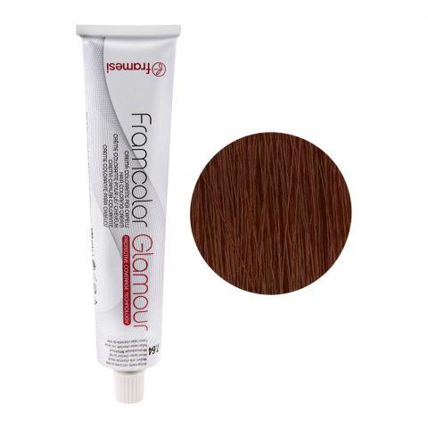 Framesi Framcolor Glamour Hair Coloring Cream, 7.64 Medium Milk Chocolate Blond