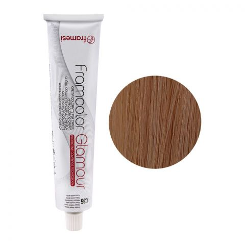 Framesi Framcolor Glamour Hair Coloring Cream, 7.36 Sandy Medium Blond