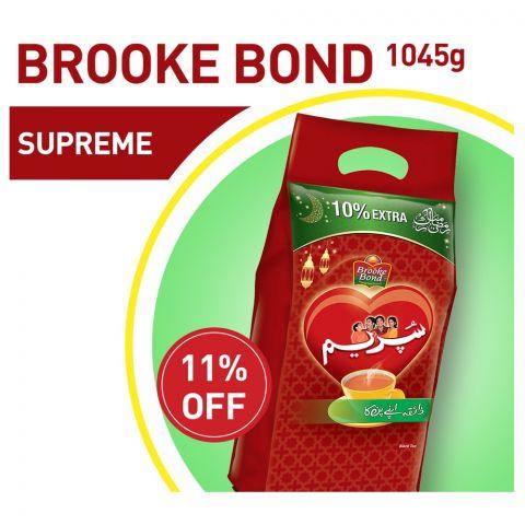 Brooke Bond Supreme Tea 1045g 11% OFF