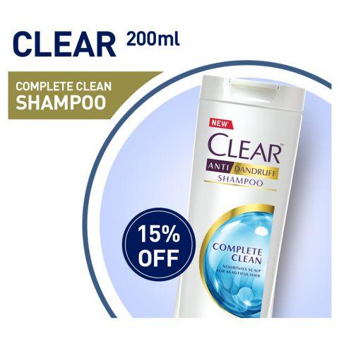 Clear Anti-Dandruff Complete Clean Shampoo 200ml