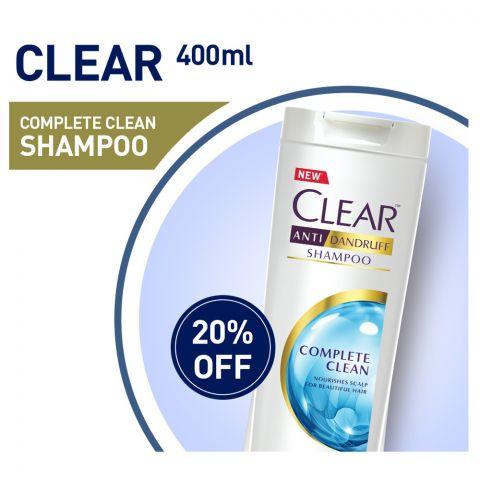 Clear Anti-Dandruff Complete Clean Shampoo 400ml