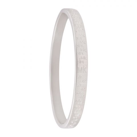 MK Style Girls Bangle, Silver, NS-025