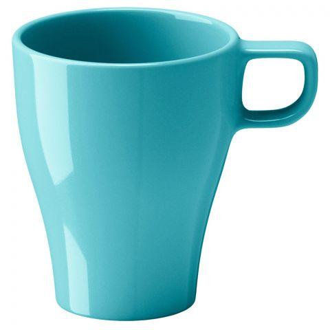 IKEA Fargrik Mug, Turquoise, 8.5oz/250m, 50234803