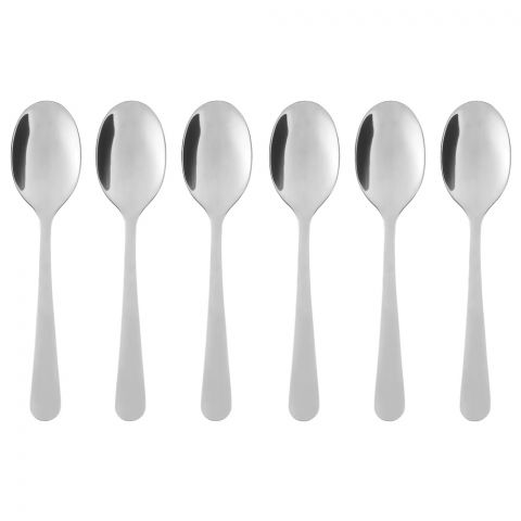 IKEA Dragon Coffee Spoon, 6 Piece Set, Stainless Steel, 50091762