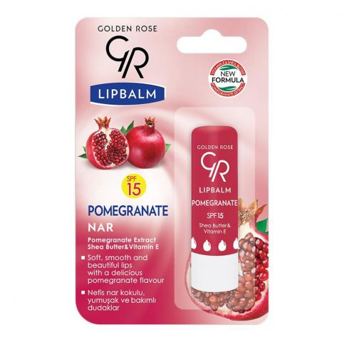 Golden Rose Pomegranate SPF 15 Lip Balm
