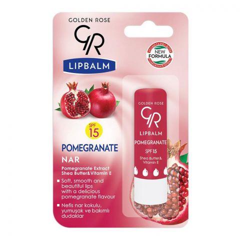 Golden Rose Pomegranate SPF 15 Lip Balm