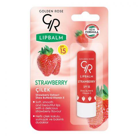 Golden Rose Strawberry SPF 15 Lip Balm