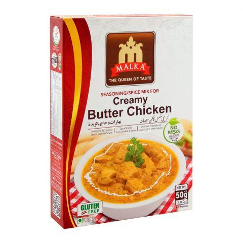 Malka Creamy Butter Chicken Masala, Gluten Free, 50g