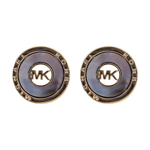 MK Style Girls Earrings, Golden, NS-0107