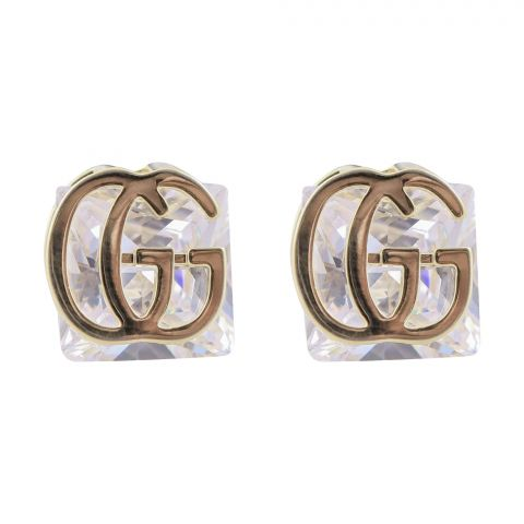 Gucci Style Girls Earrings, Golden, NS-0109