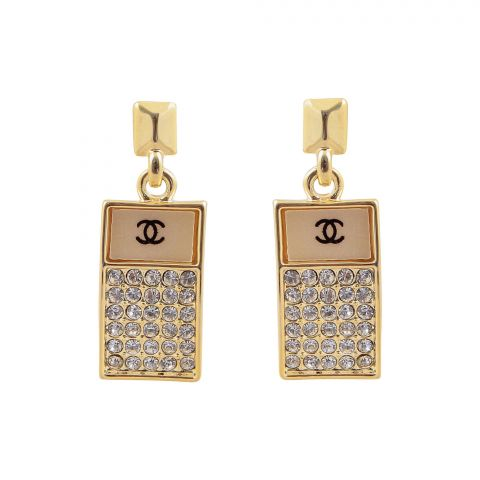 Channel Style Girls Earrings, NS-0114