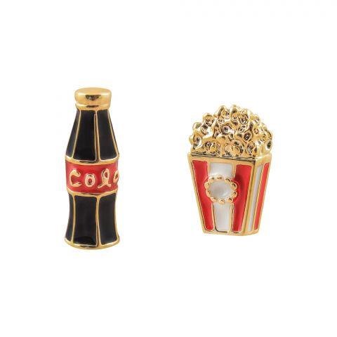Girls Earrings, Cola, NS-0123
