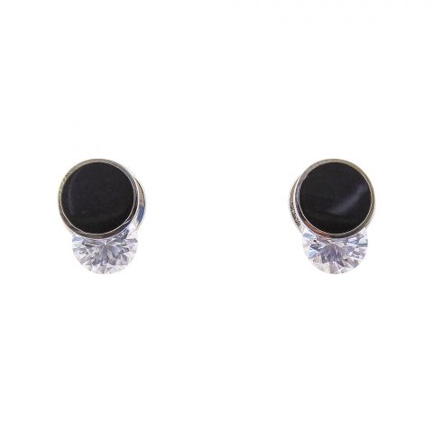 Girls Earrings, Silver, NS-0132