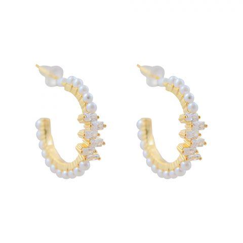 Pearl Bali Girls Earrings, NS-0138