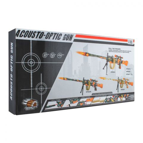 Live Long Acousto Optic Voice Gun L/S, AK-8860B