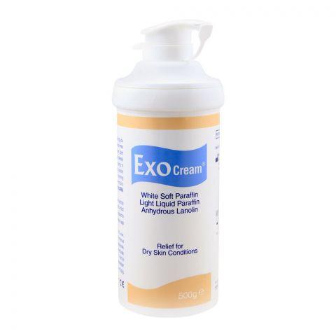 Exo Cream White Soft Paraffin Dry Skin Cream, 500g