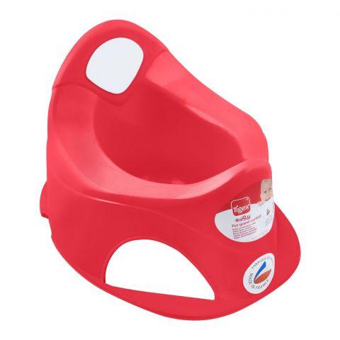 Tigex Pot Grand Comfort Potty Trainer, Red, 80601583
