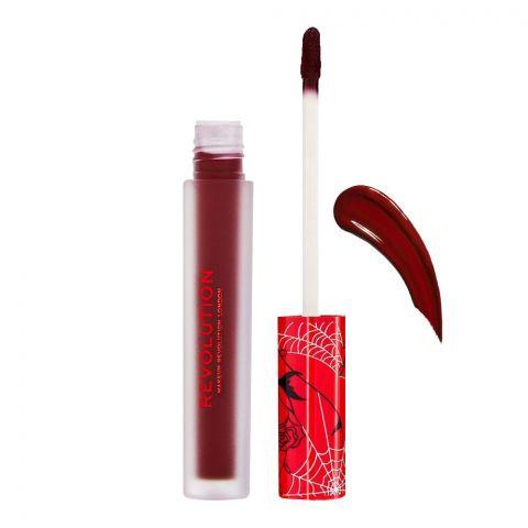 Makeup Revolution Vinyl Liquid Lipstick, Scream