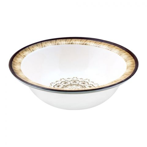 Sky Melamine Bowl, Brown, 9 Inches