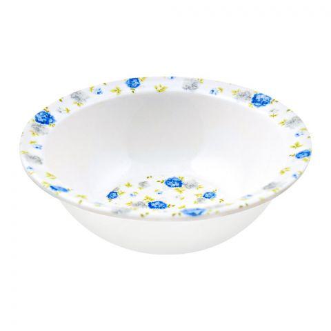Sky Melamine Bowl, Blue, 5.5 Inches