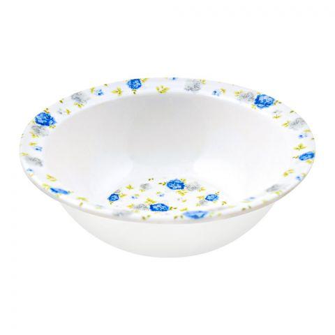 Sky Melamine Bowl, Blue, 9 Inches