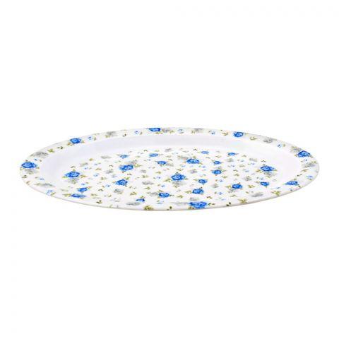 Sky Melamine Rice Dish, Blue