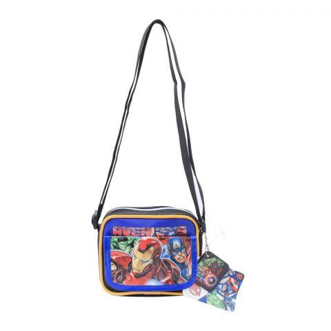 Marvel Avengers Kids Shoulder Bag, Black, MVNG-3019