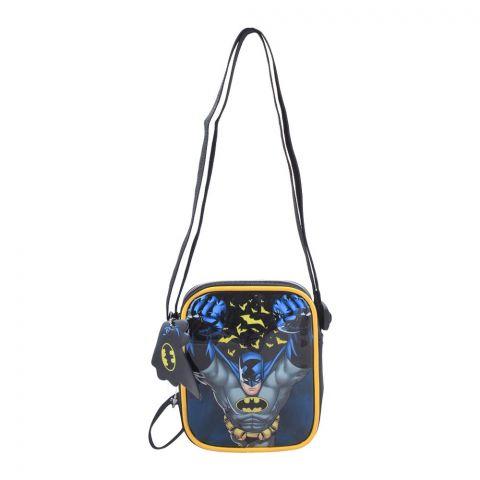 Batman Boys Shoulder Bag, Black, BMNG-3012