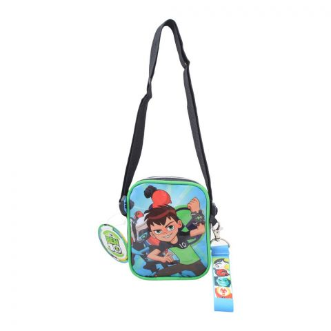 BEN 10 Boys Shoulder Bag, Black, BEN-81637