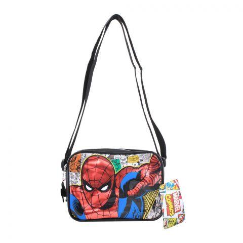 Spider Man Kids Shoulder Bag, Black, SPNE-3014