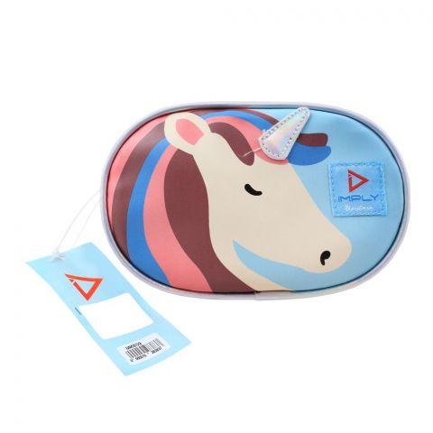 Unicorn Girls Waist Bag, Pink, UNC-609