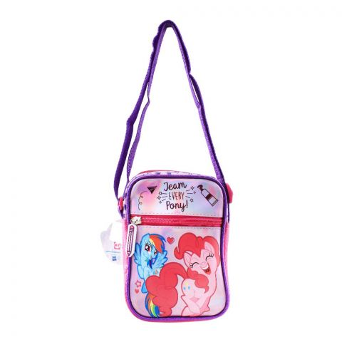My Little Pony Team Every Pony Girls Shoulder Bag, Pink, PN-72251