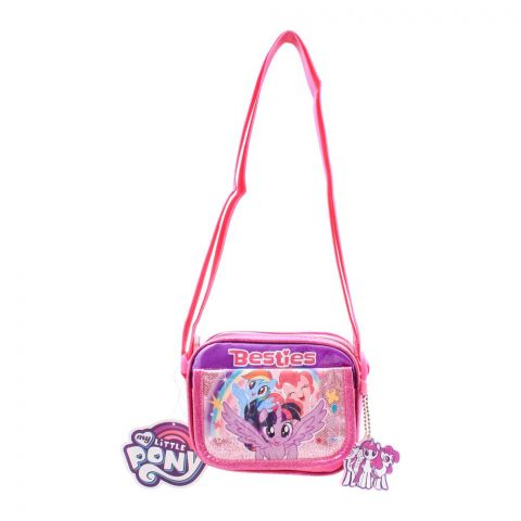My Little Pony Besties Girls Shoulder Bag, Pink, PN-72235