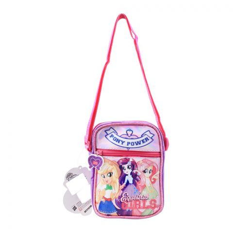 My Little Pony, Pony Power Girls Shoulder Bag, Purple, EG-07005