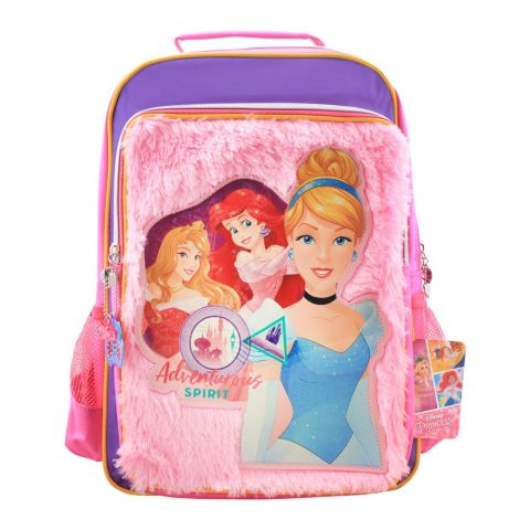 Princes Adventurous Sprit Girls Backpack, Pink, PCNA-5078