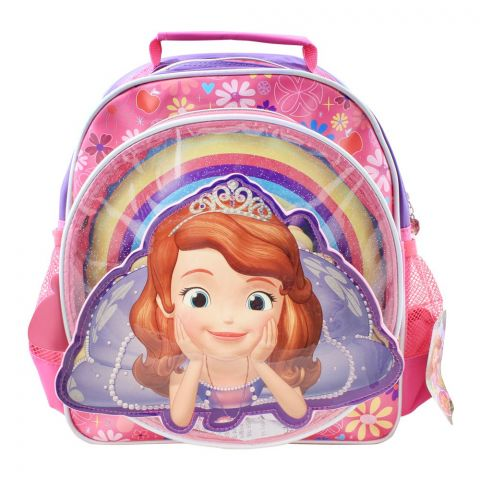 Princes Girls Backpack, Pink, SFNG-5069