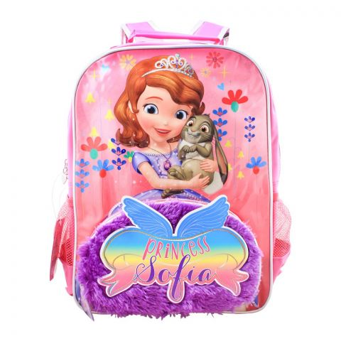 Princess Sofia Girls Backpack, Pink, SFNG-5071