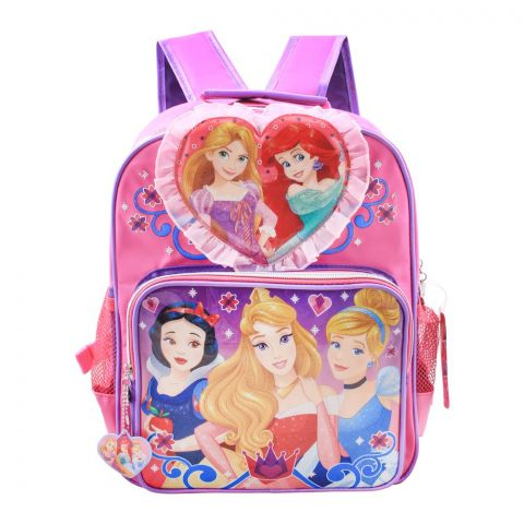 Disney Girls Backpack, Pink, PCNG-5074