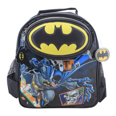 Batman Boys Backpack, Black, BMNG-5046