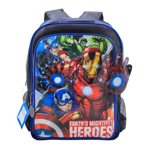 Earth's Mightiest Heroes Boys Backpack, MVNG-5033