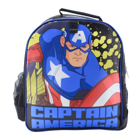 Captain America Boys Backpack, Black, MVNG-5054