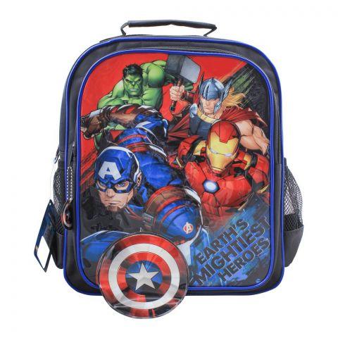 Avengers Boys Backpack, Black, MVNG-5052