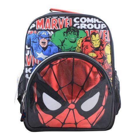 Marvel Comics Boys Backpack, Black, SPNG-5030
