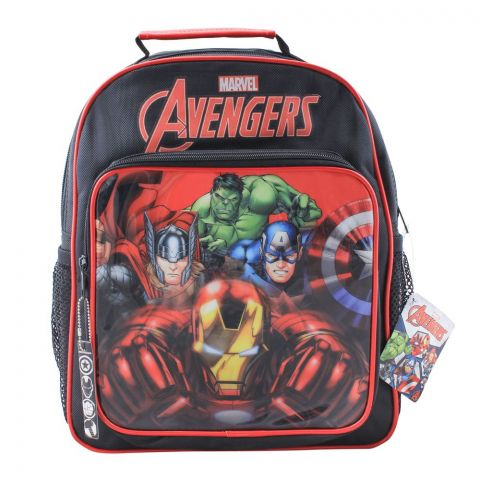 Marvel Avengers Boys Backpack, Black, MVNG-5031