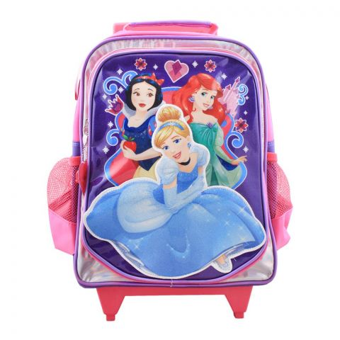 Disney Girls Trolly Backpack, Pink, PCNE-6027