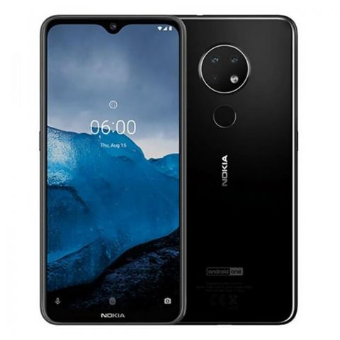Nokia 6.2 Dual SIM 4GB/128GB Smartphone, Black, TA-1198