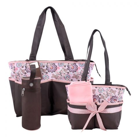Colorland Gray Gamut Pattern, Baby Bag Set, 5 Pieces, BB999AE