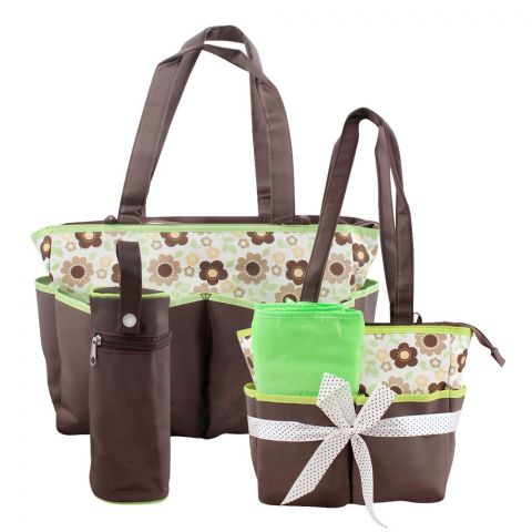 Colorland Prunus Mume Flower Baby Bag Set, 5 Pieces, BB999AL