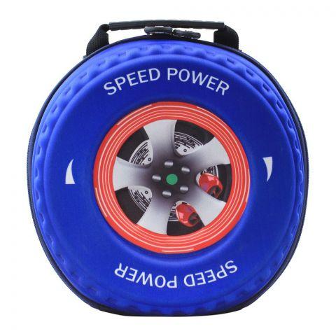 Cars Speed Power Boys Bag, Blue, PK-9702