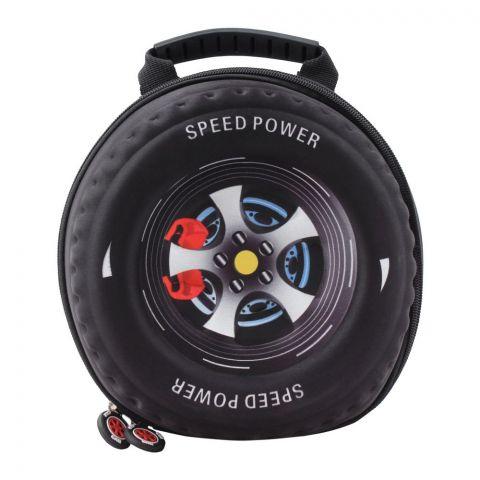 Cars Speed Power Boys Bag, Black, PK-9704